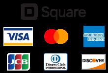 お支払いはクレジットカードでも可能です